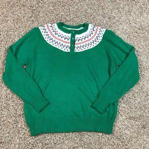Fair Isle Style Sweater Vintage Charisma